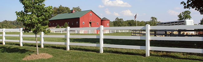 3 and 4 Rail Ranch Fence banner