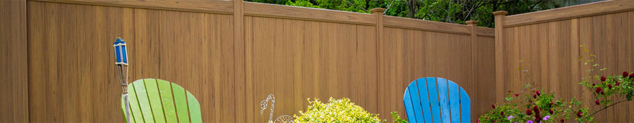 Privacy fence pool fence decorative fence fencing solutions activeyards - Pvc fencing solutions ...
