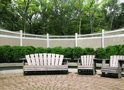 Aspen Harmony Wicker Infill White Rails