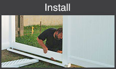 Install your fence