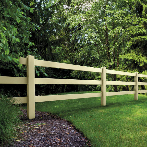 Vinyl Ranch Fence