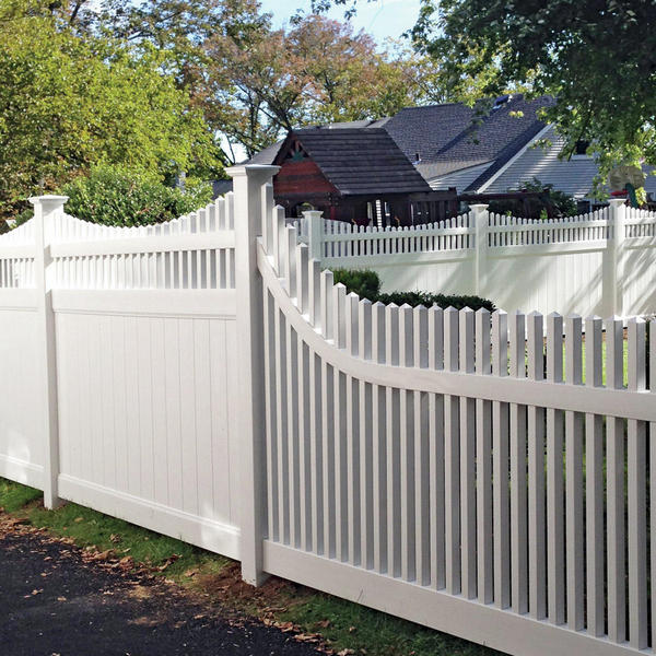 Vinyl Fencing | Security Fence | Chestnut Straight