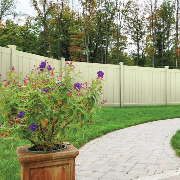 Removable Privacy Fence vinyl fencing | privacy fence | dogwood | activeyards