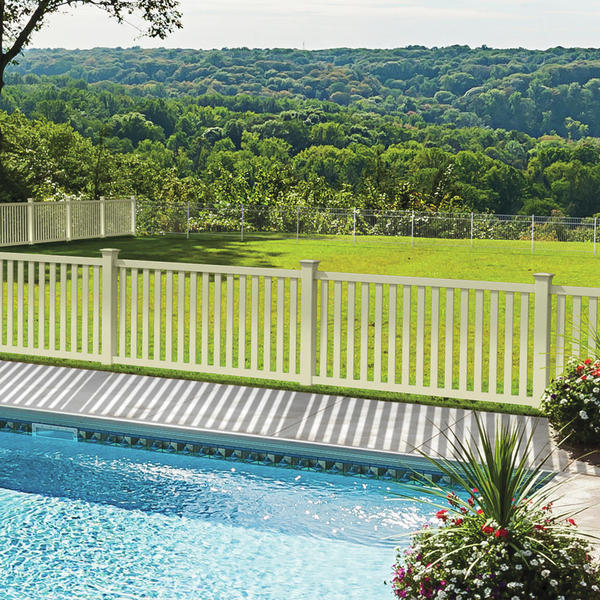 pool fence with SolarGuard protection