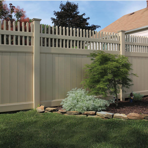 Vinyl Fencing Privacy Fence Moonstone Activeyards