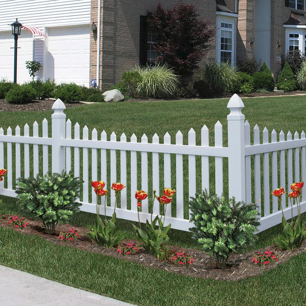 Vinyl Fencing Decorative Fence Primrose Scallop