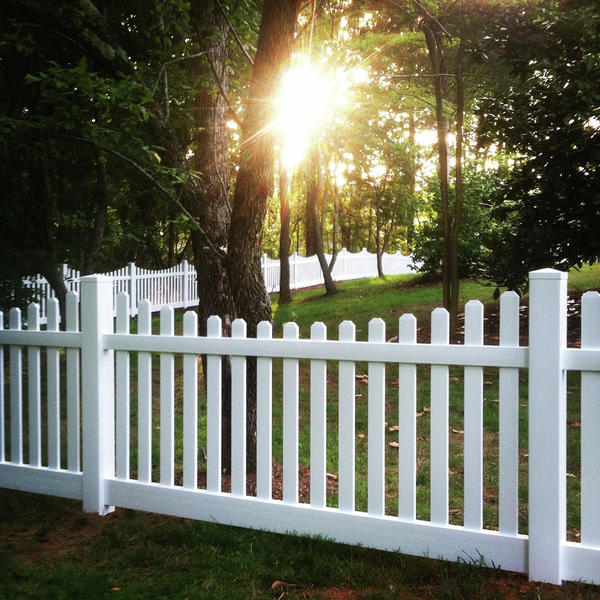 4 Rail Wood Fence