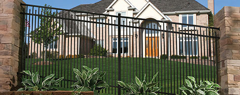 Diamond series fence