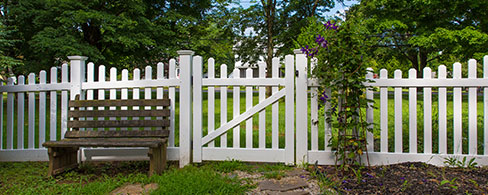 silverbell scallop decorative fence - Decorative Fencing