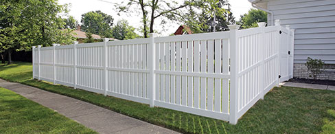 Tupelo decorative fence