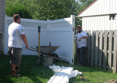 ActiveYards® Pro Fence Installation